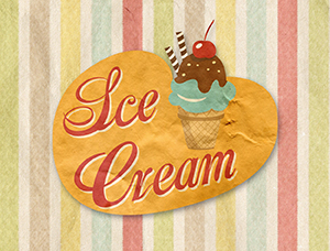 cover ice cream